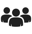 group people icon social or business vector image