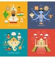India Concept Set vector image