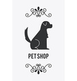 pet design vector image vector image