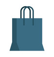 shopping bag symbol vector image vector image