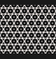 subtle geometric seamless pattern with hexagons vector image vector image