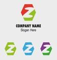 Z alphabet logo letter Z icon