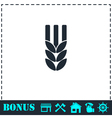 Agriculture icon flat vector image