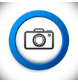 camera icon background vector image