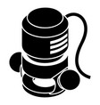 circular power tool icon simple style vector image vector image