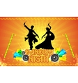 Dandiya Night vector image vector image