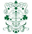 green design elements set for st patricks day vector image vector image