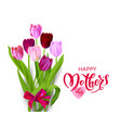 isolated holiday mothers day vector image vector image