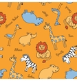 Seamless pattern animal Safari vector image vector image